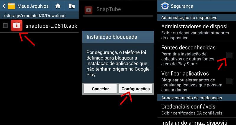Como ativar a opção fontes desconhecidas no Android