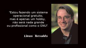 Quem é Linus Torvalds
