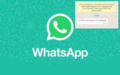 Como ver as mensagens que foram apagadas no WhatsApp