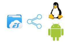 Como compartilhar arquivos entre Android e Linux